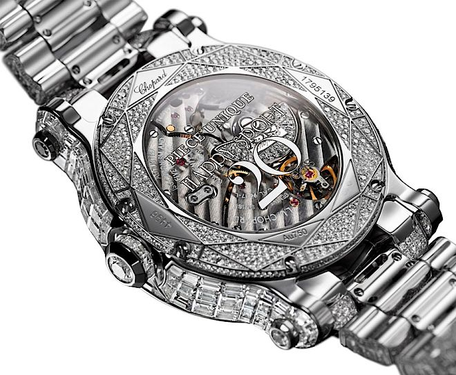 Zegarek Chopard Happy Sport Diamantissimo. 20 lat zegarków Chopard Happy Sport